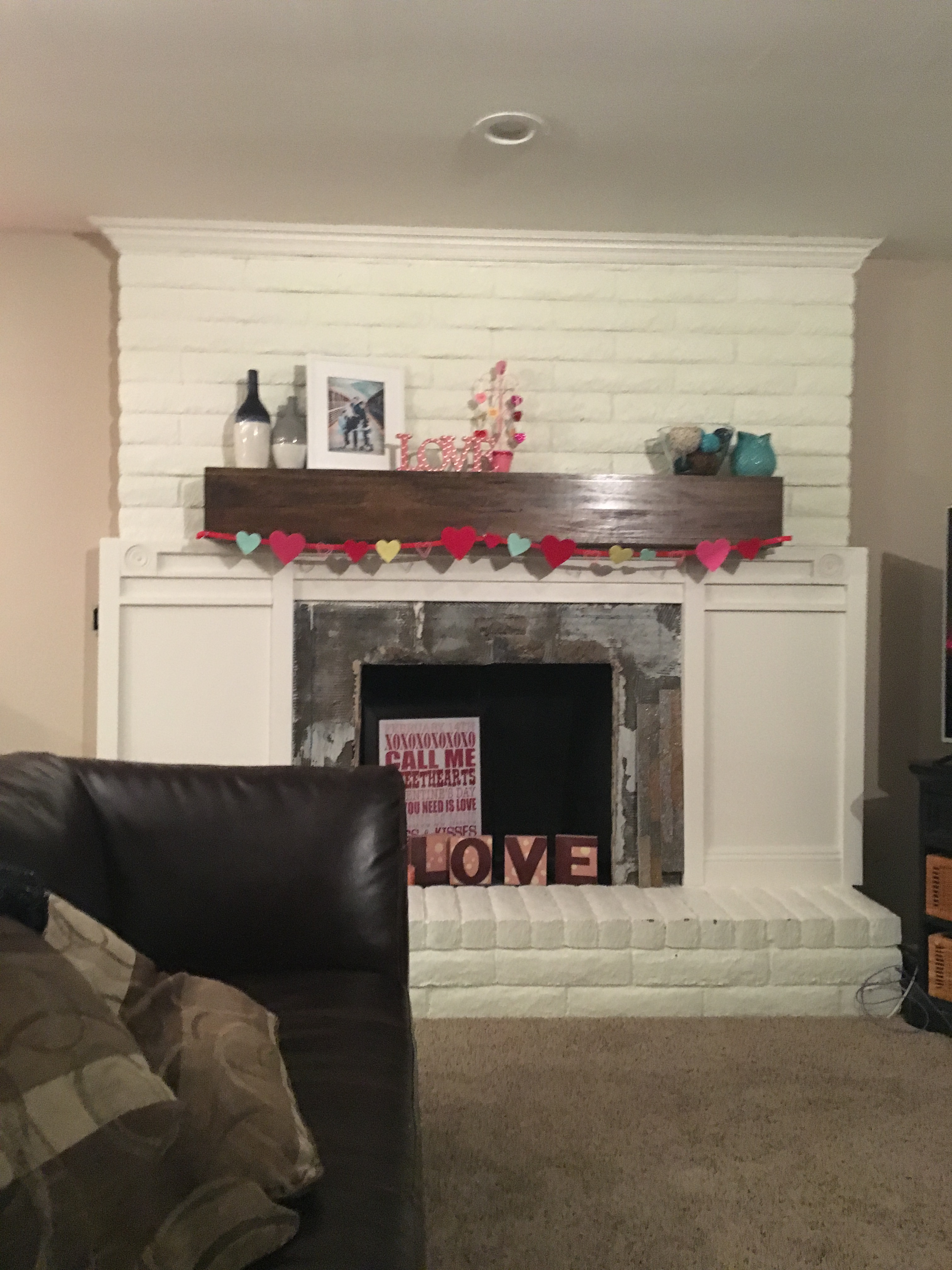 Tag: fireplace mantle -